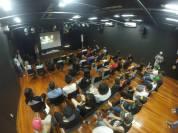 Apresentação da missão Christian Skaters Brasil para a galera do C.E.U.