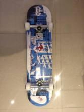 Skate que conseguimos para a doação.