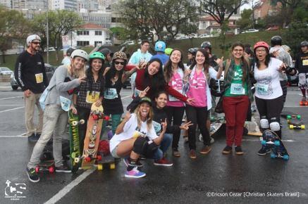 Skate Feminino a milhão, sempre presente e crescente.