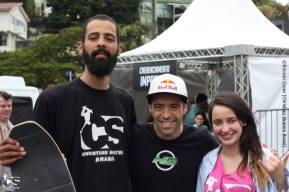 Esse ano tivemos mais uma vez a presença do 6 vezes campeão mundial de skate vertical, Sandro Dias, o Mineirinho, que trás a diferença do Skate Run com os demais eventos de skate, onde o profissional, o amador, o skatista de rua ficam no mesmo cenário, enxergamos que o skate é uma grande junção social. Um junção que não tem limites.