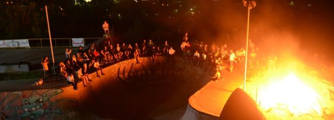 Na ultima noite tivemos uma fogueira seguida de uma ministração focada na sua originalidade diante de Deus e de suas escolhas junto a Ele.