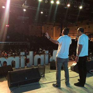 Pregação no Intime Contest Tour 2015 - Foto @intimeculture
